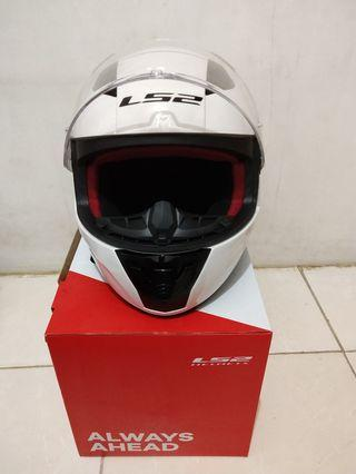 Helm LS2 FF353 Rapid Solid White Size XL