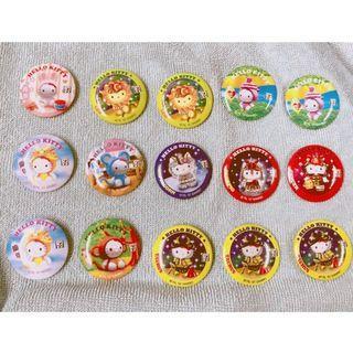 Hello Kitty Vintage 可愛生肖襟章