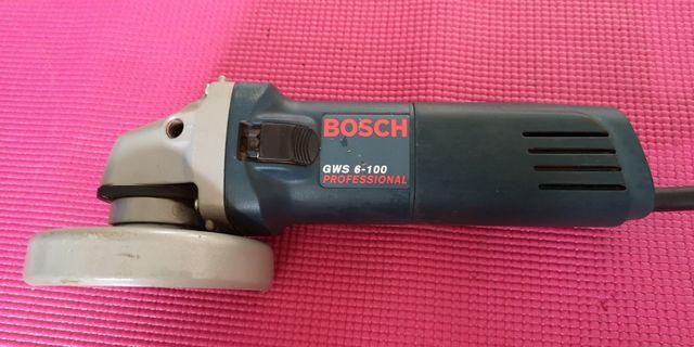 BOSCH GWS 6-100 professional angle grinder / mini cutter