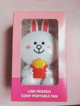 Line Friends Cony Portable Fan 兔仔風扇仔