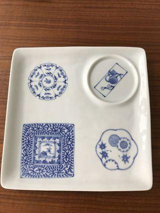 Japanese style square Plate