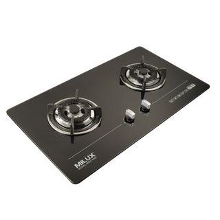 Milux Built-In Adjustable Flexi Size Gas Cooker Glass Hob (MGH-966F)