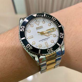 Seiko Rare Vintage 10bar Automatic 21jewels Watch SKX027J