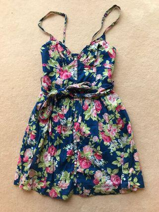Abercrombie and Fitch XS Floral Dress