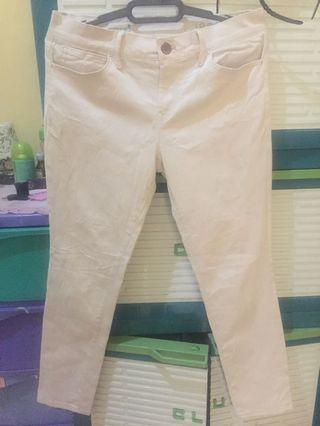 GAP cream pants