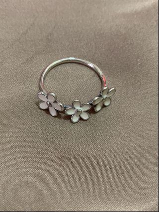 純銀花朵🌺戒指
