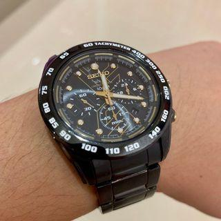 Seiko Criteria Solar Chronograph Limited Edition 739/800 SSC129P1 Men Watch