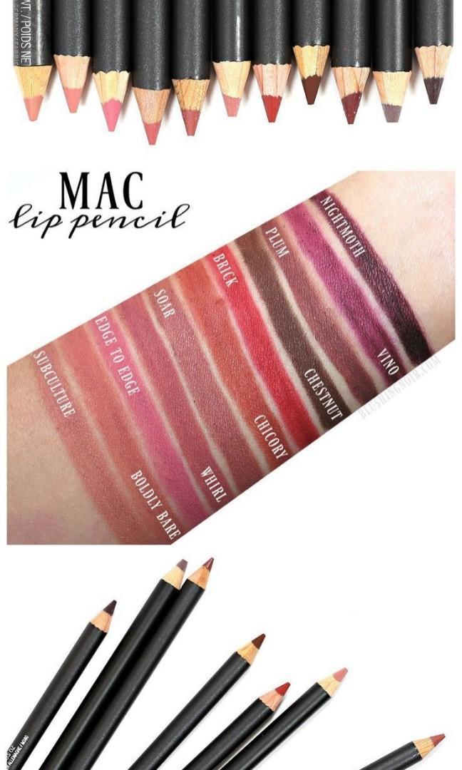 Afbeeldingsresultaat voor MAC Lip Pencil whirl