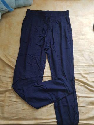 tirajeans navy jogger pants
