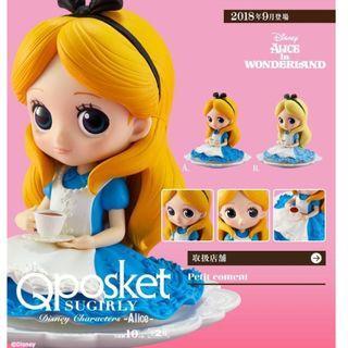 迪士尼 Figure 愛麗絲 Q posket SUGIRLY Disney Characters - Alice -