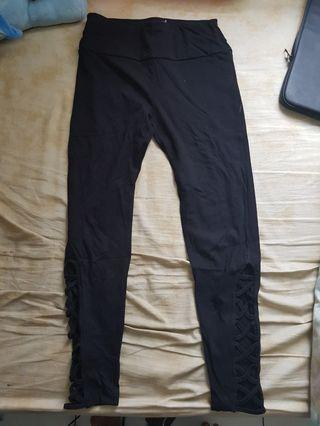 colorbox lace up legging