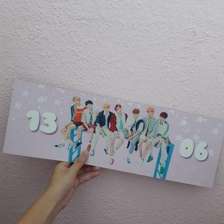 <wts> bts 6th anniversary banner fansupport