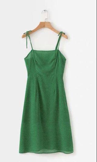 Mini Green Dress