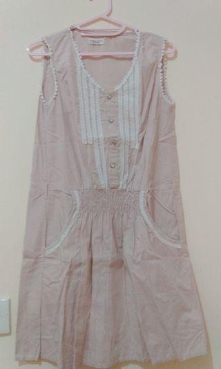 Pink Korean Dress