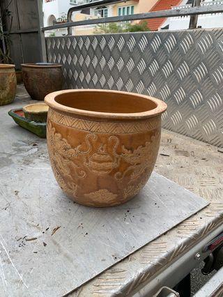 Vintage flower pot