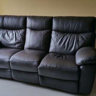 Recliner Sofa #homerefresh30