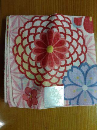 日本刺繡手帕