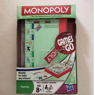 Monopoly Games to GO Mini