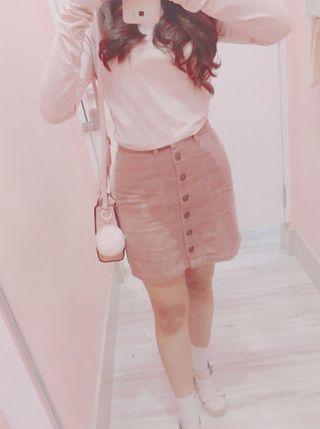 Pink Crop Top by H&M