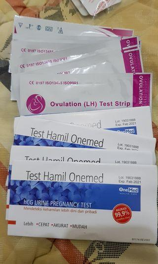 Ovulation, pregnancy test pack