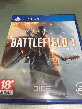 Battlefield 1  中文版 100% work 只玩一兩次