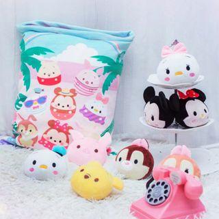 Cutie Soft Toy Tsum Tsum 8 in 1