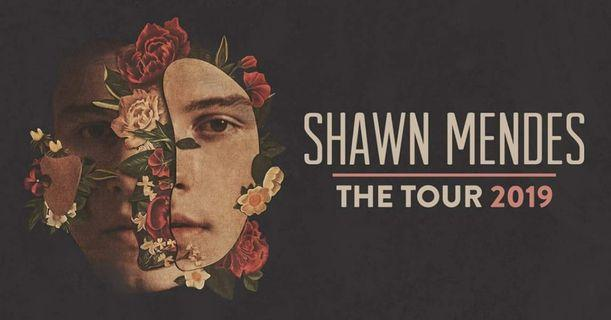 WTS SHAWN MENDES CONCERT TICKET