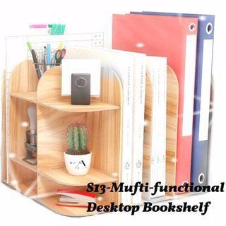 DIY Desktop Bookshelf-S13