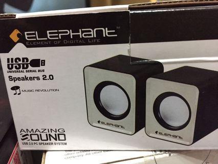 Elephant SP-018 USB 2.0 Speaker