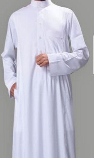 Al-Haramain White Jubah or Gamis