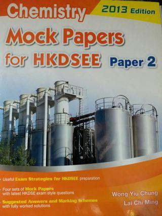 Chem Mock Papers for DSE Paper 2