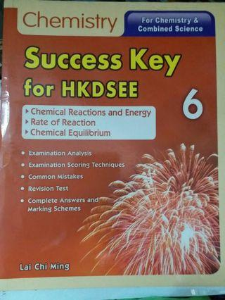 Chemistry Success Key for DSE 6
