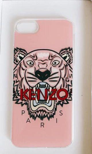 KENZO手機殼 粉紅 iphone 7/8 通用 含運