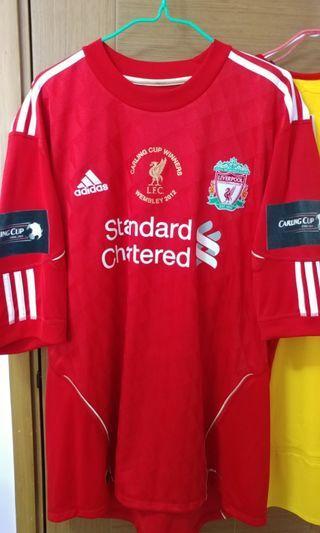 [BB來了清屋蝕讓] 利物浦 Liverpool 2012 聯賽盃冠軍 主場球衣