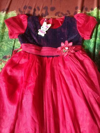 Dress Anak pinguin