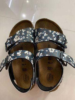 74a9347c837e Authentic Birkenstock x Mickey mouse shoe size 30