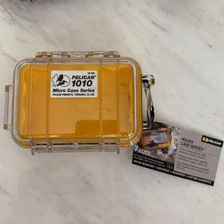 Pelican 1010 Yellow Water Tight, Crush Proof, Dust Proof Case