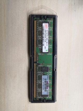 RAM PC5300 1GB