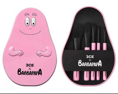 3CE X Barbapapa Makeup Brush Set Inspired