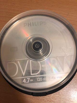 Phillips dvd+tw 4.7gb