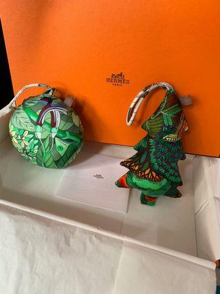 Hermes Christmas charm 吊飾 限量 limited edition