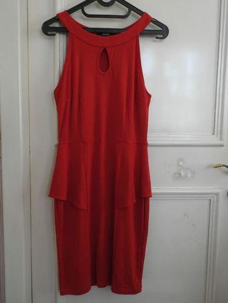 Red Helter Dress BY SODAICE