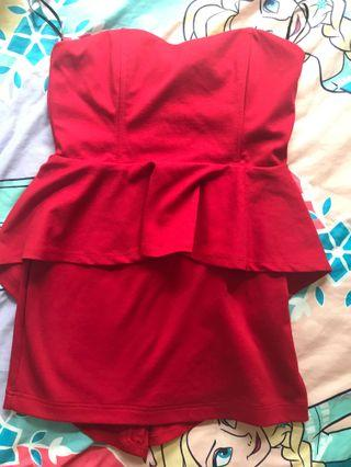 🚚 Forever21 Red tight dress