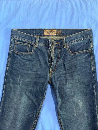 Giordano Slim Fit Low-waist Jeans
