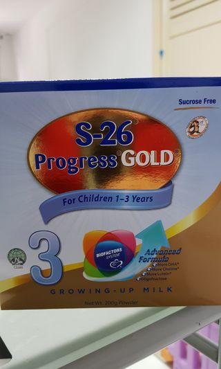 🚚 S26 Stage 3 Progress Gold