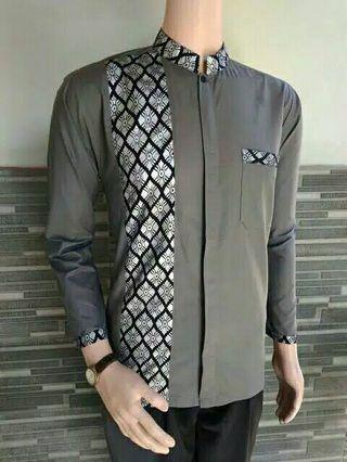 Baju Batik long sleeve