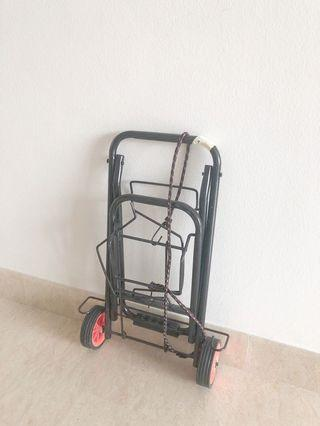 Foldable Trolley for luggage or groceries
