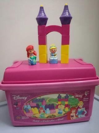 Mega Bloks Lego Disney Princess building sets