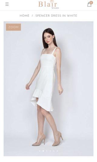Blairwears Spencer Dress in white