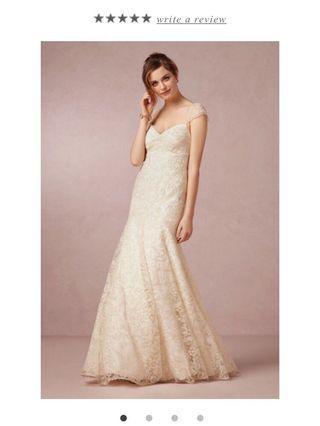 🚚 Jenny Yoo Leila Wedding Gown